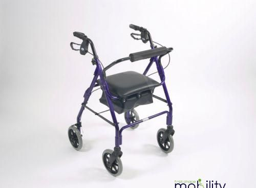 Lightweight Aluminium 4 Wheel Walker