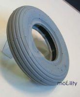 Pneumatic 200 x 50 Mobility Tyre Rib Tread