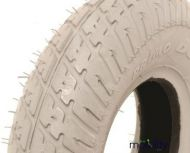 200 X 50 Grey Infilled Block Tread Tyre for two piece rims