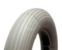 200 X 50 Grey Infilled Ribbed Tread Tyre for two piece rims