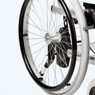 Spare 22 inch Puncture Proof Rear Wheel For Patterson Self Propelled Wheelchair