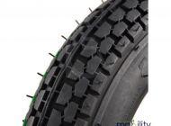 Pneumatic 250 x 6 Block Tread Black Scooter Tyre