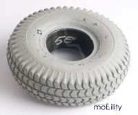 Puncture Proof Solid Scooter Tyre 3.00 x 4 (260 x 85) Block Tread