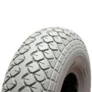 Pneumatic Scooter Tyres 4.00 x 5 (330 x 100) GREY or BLACK C154 TREAD