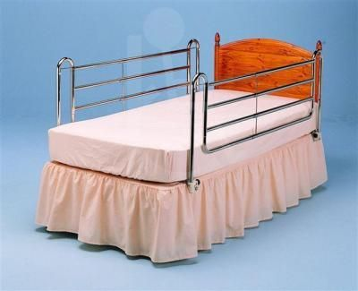 4 Bar Bed rails with Cross Braces to fit Divan Bed