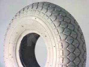 Puncture Proof Solid Scooter Tyres 3.00 x 4 (260 x 85) Block Tread