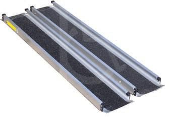 Telescoping 6ft Channel Ramp Set