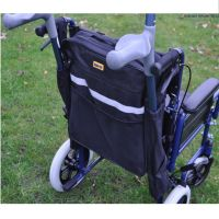 Splash Crutch Walking Stick Bag for Scooters and Wheelchairs