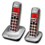Big Tel 1202 Twin Cordless Phone System with Large Buttons