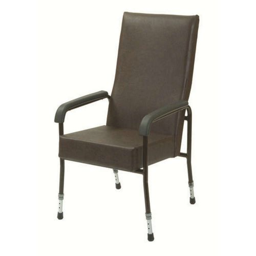 Adjustable Vinyl High Back Chair