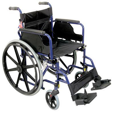 Deluxe Self Propelled Steel Wheelchair