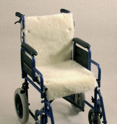 Wheelchair Seat and Back Cover - Fleece