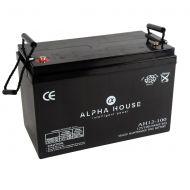Alpha House 100AH AGM Battery