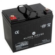 Alpha House 44AH AGM Battery