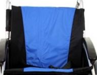 Back Upholstery In Blue For A Excel G Lite Pro