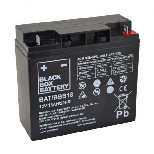 Black Box 18ah AGM Battery