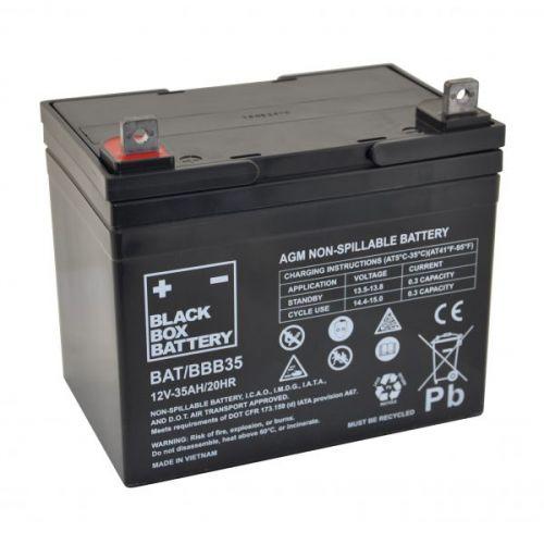 Black Box 35ah AGM Battery