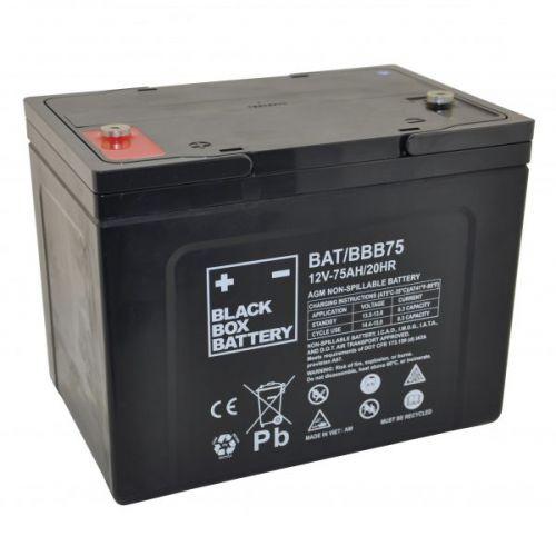 Black Box 75ah AGM Battery