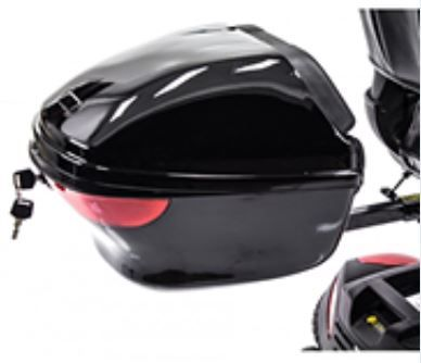 Back Box Storage Container for Monarch Mobility Scooters