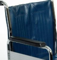 Back Rest Canvas On A Transit Wheelchair For A Days Wheelchair