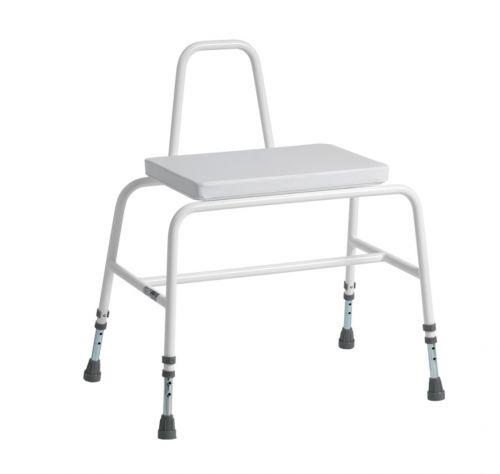 Extra Wide 44 Stone Bariatric Perching Stool