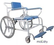 Bariatric Self Propelled Wheeled Shower Commode Chair