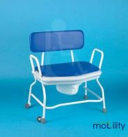 Commode Bariatric Extra Wide With Drop Arm