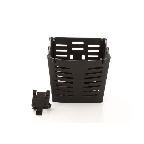 Quick Release Bracket and Folding Basket for Monarch Mobility Scooters