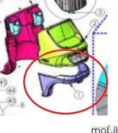 TGA Breeze S3 Front Bumper