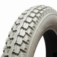 Pneumatic 250 x 8 Block C177 Tread Scooter Tyre BLACK or GREY