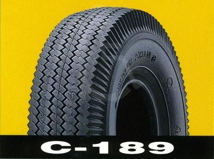 Pneumatic 410 350 x 5 C189 Tread pattern Scooter Tyre