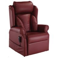 Cosi Chair Kensey in Burnt Amber Ultra Leather