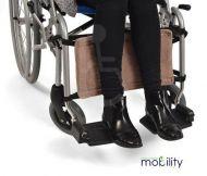 Wheelchair Calf support strap (coral fleece)