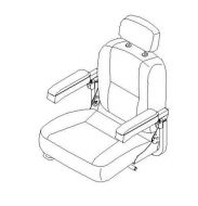 Captains Seat for Freerider Mayfair
