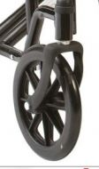 Castor Wheels for Drive Bariatric Steel Transport Chair