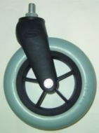 Castor Wheel With Forks For A Self Propelled Or Transit Lomax Wheelchair