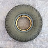 4.00 x 5 Infilled Puncture Proof Tyre Used