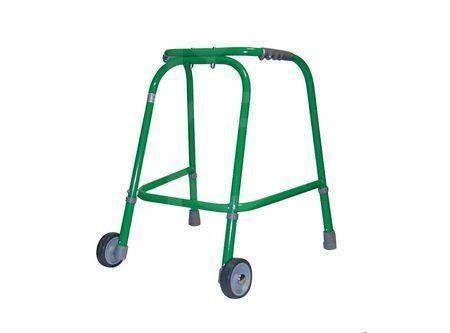 Wheeled walking frame