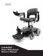 Drive Cobalt Powerchair Manual