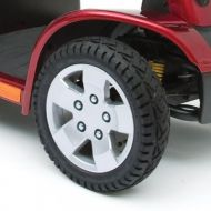 Wheel with Rim and Solid Tyre for Pride Colt XL8