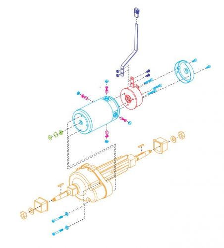 Complete Transaxle Assembly for Pride Colt XL8
