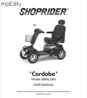 Shoprider Cordoba Manual