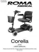 Shoprider Corella Manual