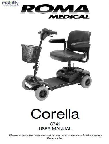 Shoprider Corella Manual