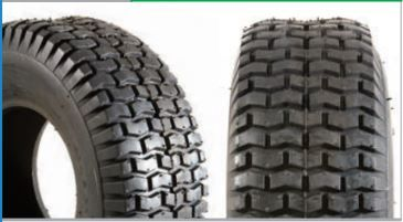 Pneumatic 13 500 x 6 Block Tread Scooter Tyre Black