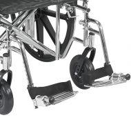 Sentra EC Wheelchair Complete Leg Rests Pair