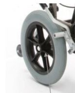 Rear Wheel and Tyre 12 Inch for Drive ID Soft Tilt In Space Wheelchair