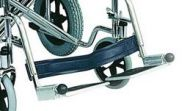 Pair Of Footplates a Days Steel Transit Wheelchair
