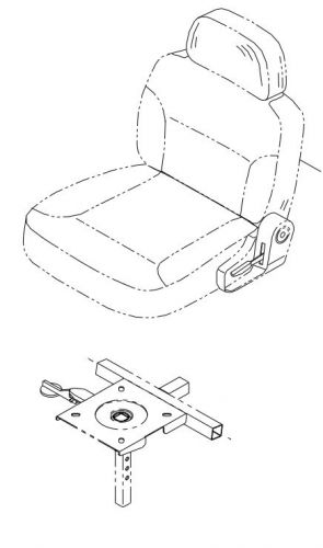Deluxe Seat Assembly for Roma Cadiz
