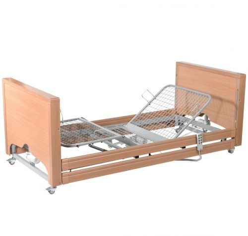 Casa Med Classic FS Low Profiling Bed with Integral Side Rails